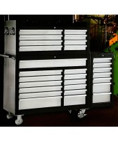 Multi drawers tool trolley